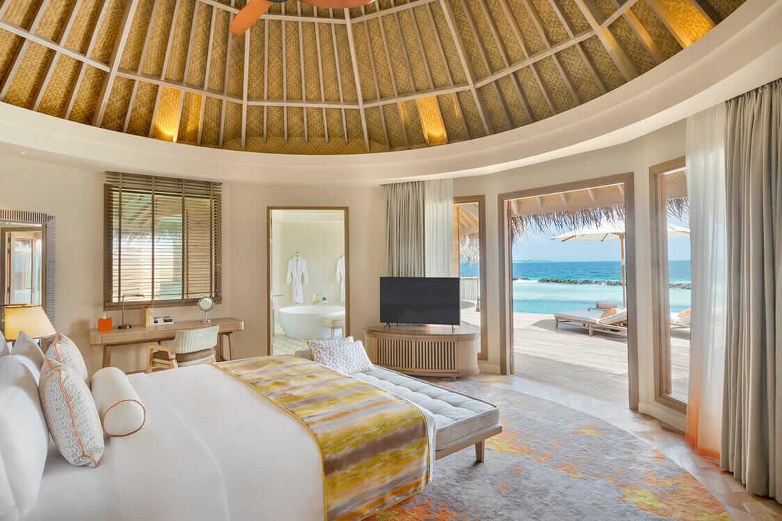 bedroom-the nautilus maldives