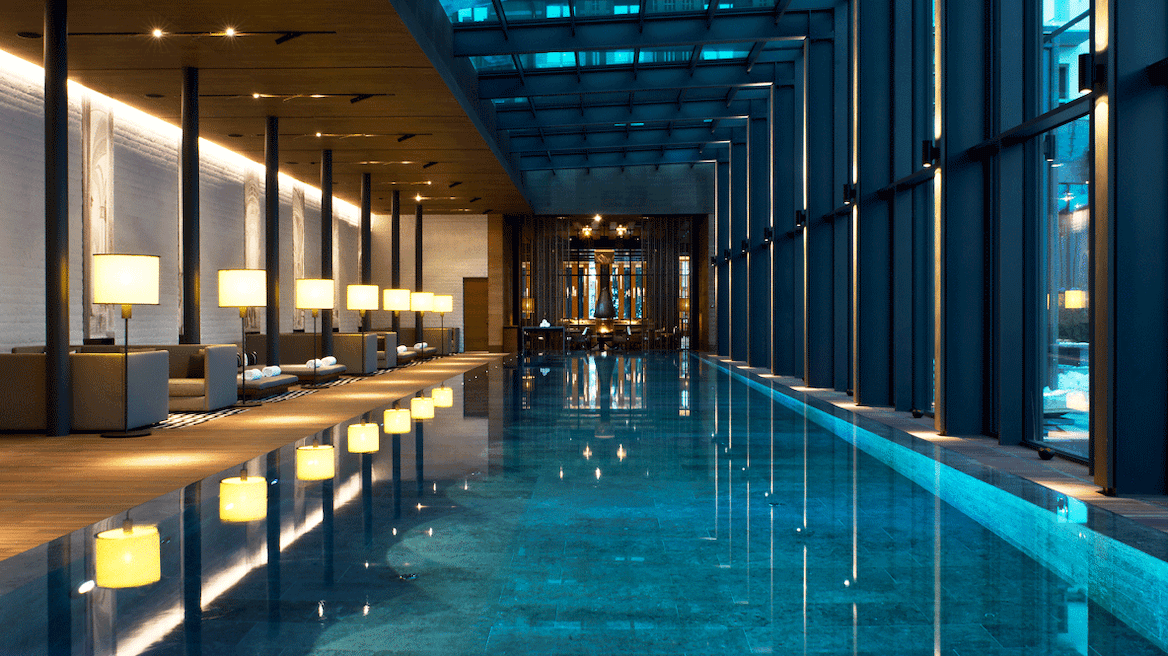 indoor pool-pool-chedi andermatt