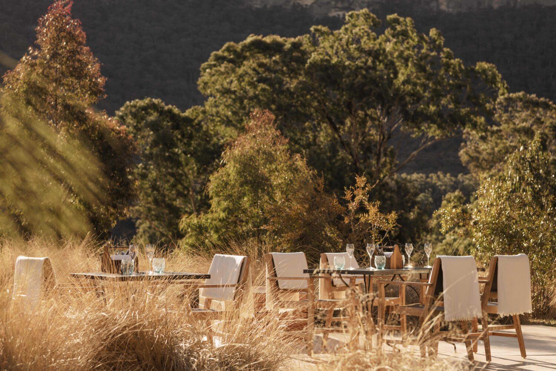 outdoor restaurant-emirates one&only wolgan valley australia