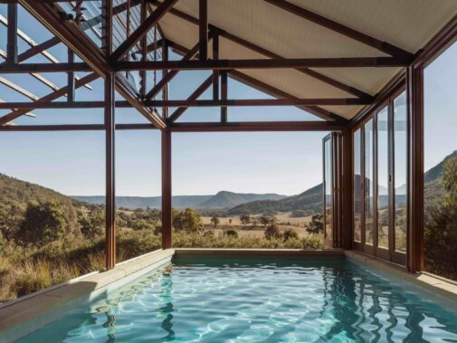 pool view-emirates one&only wolgan valley australia