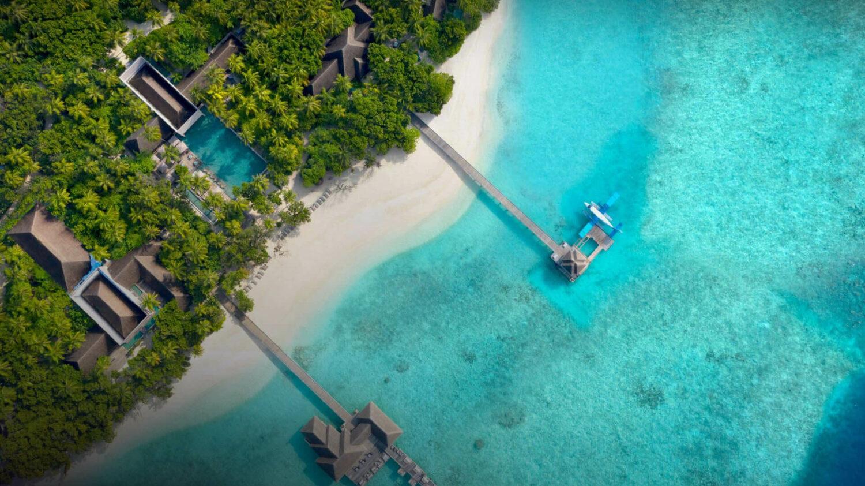 location drone shot-vakkaru maldives
