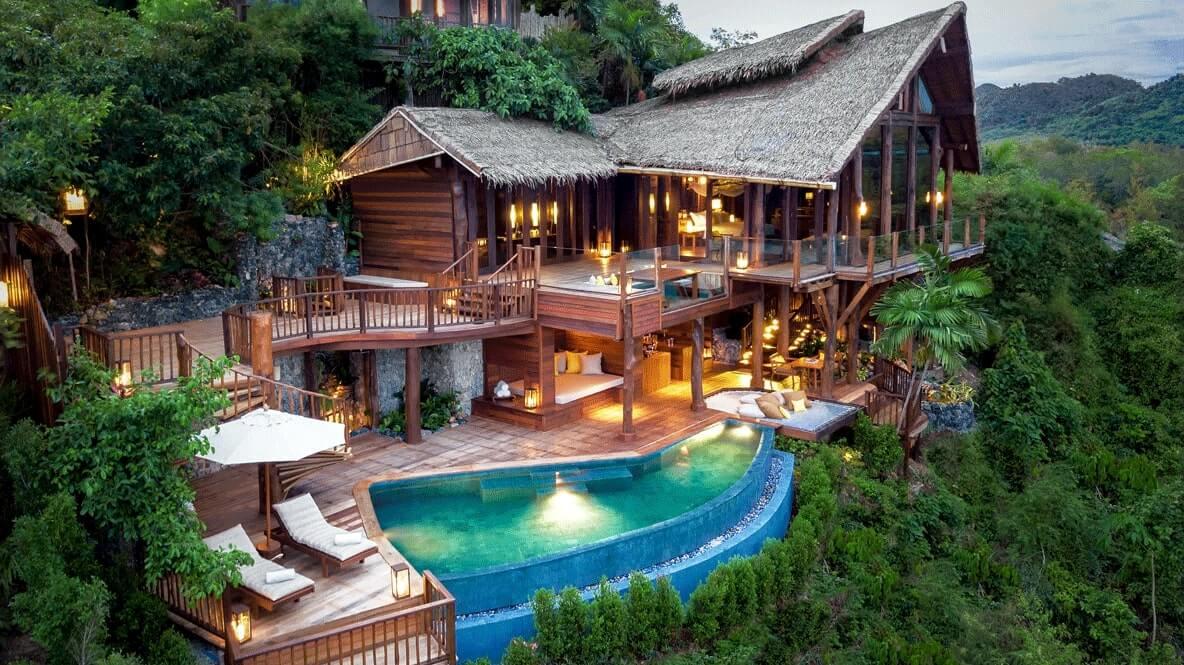 pool villa-six senses yao noi thailand
