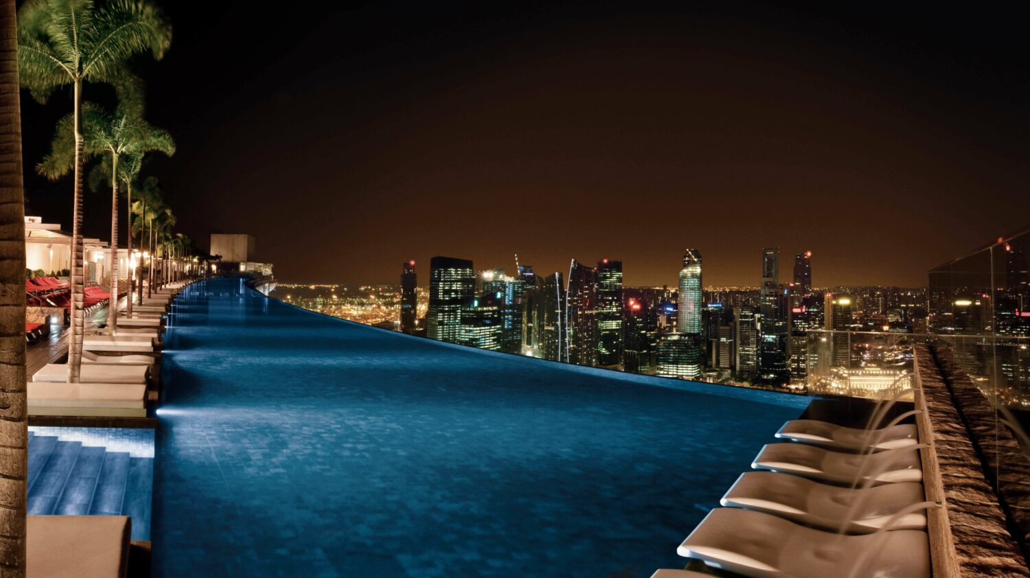 rooftop pool-marina bay sands singapore