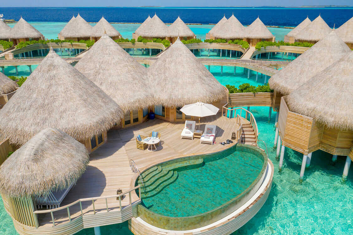 overwater villa with pool-the nautilus maldives