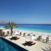 pool view beach-six senses zighy bay oman