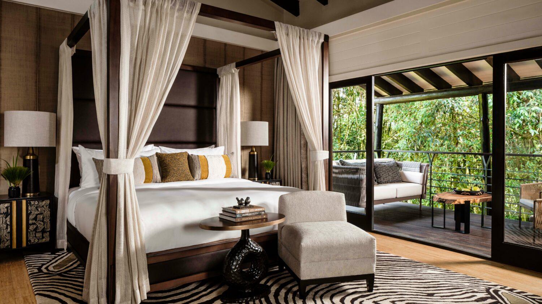bedroom suite-one&only nyungwe house rwanda