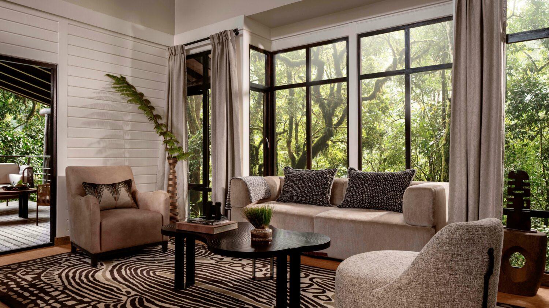 suite livingroom-one&only nyungwe house rwanda