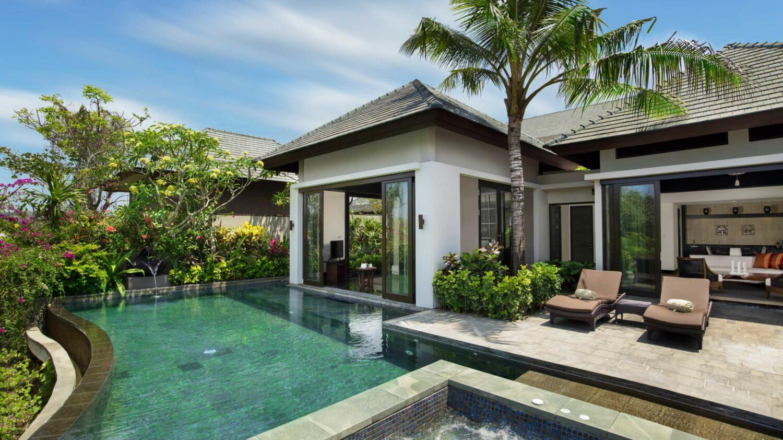 pool villa-banyan tree ungasan bali