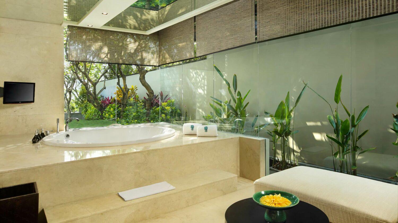 presidential suite bathroom-banyan tree ungasan bali