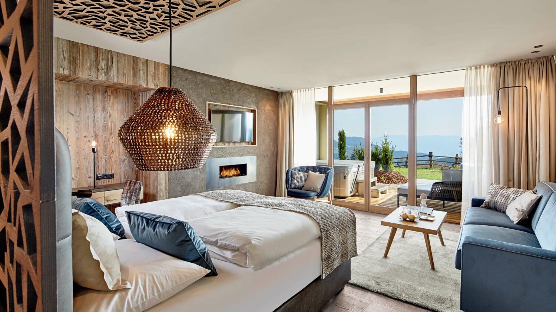 garden love suite-hotel chalet mirabell