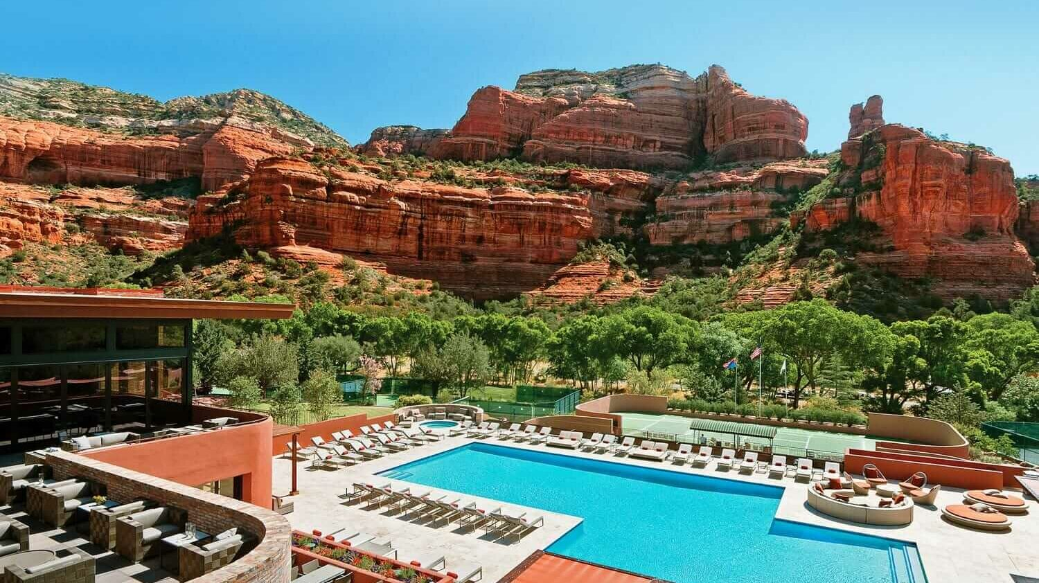 pool view-enchantment resort usa