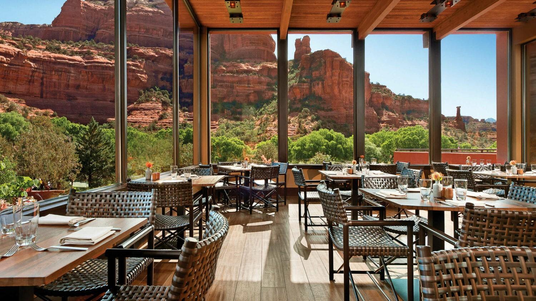 restaurant-enchantment resort usa