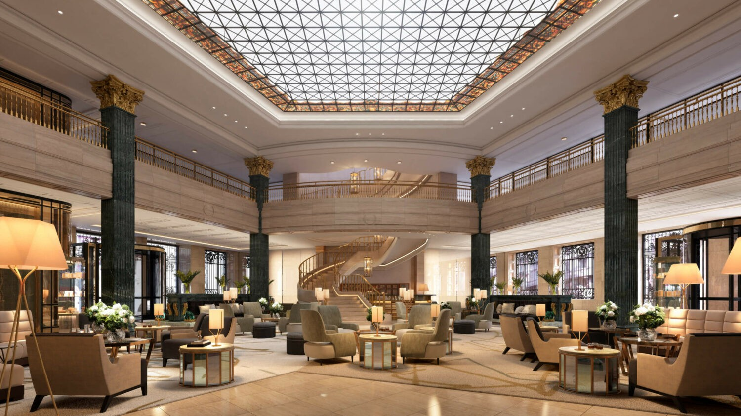 lobby hotel-four seasons madrid