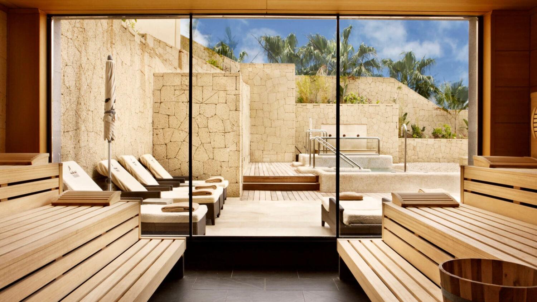 sauna-gran hotel bahía del duque resort tenerife spain