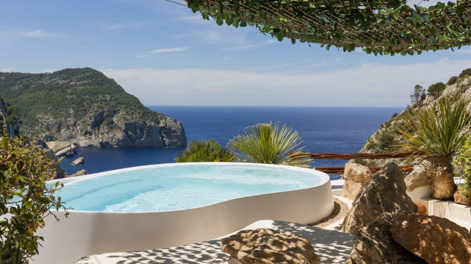 pool with a view-hacienda na xamena ibiza spain