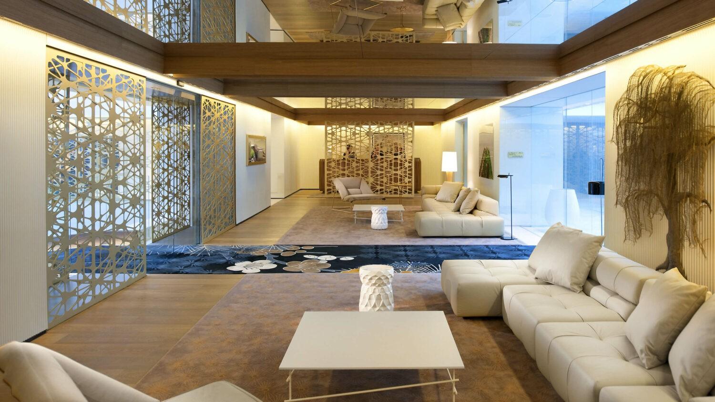 lobby-mandarin oriental barcelona spain