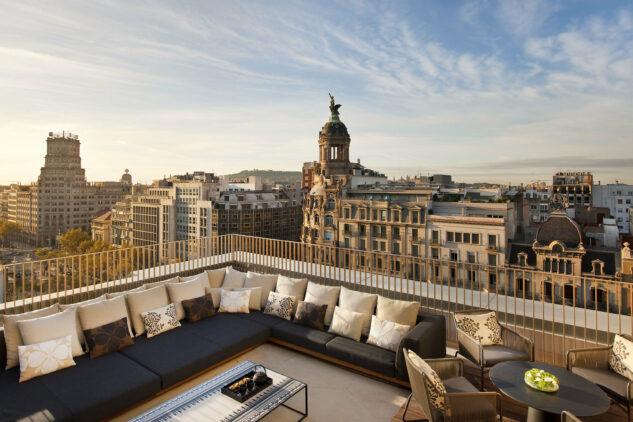 penthouse suite-mandarin oriental barcelona spain