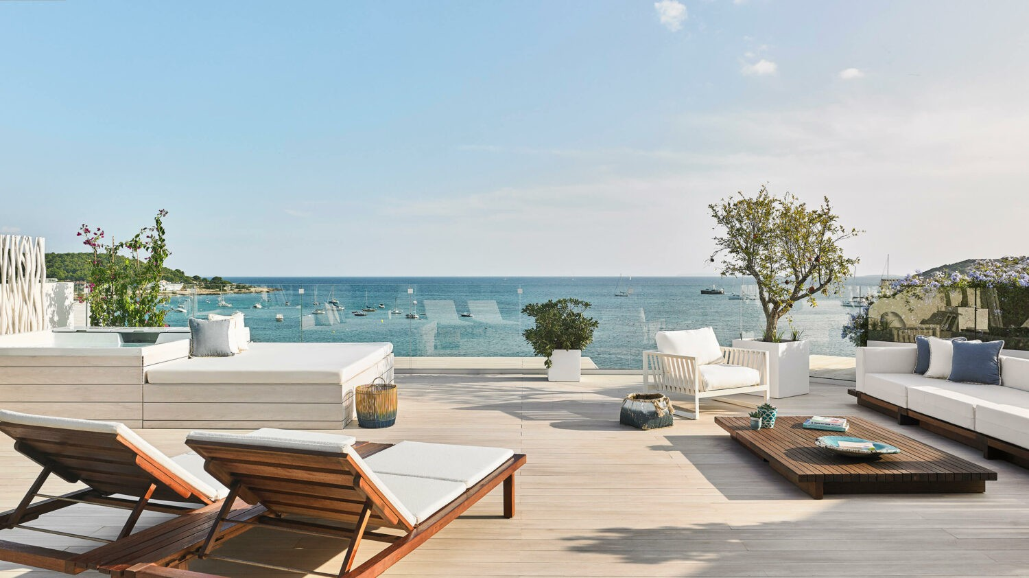 royal suite terrace-nobu hotel ibiza bay