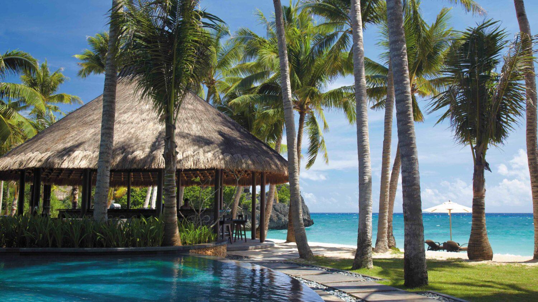 pool beach-shangri-la's boracay resort & spa philippines