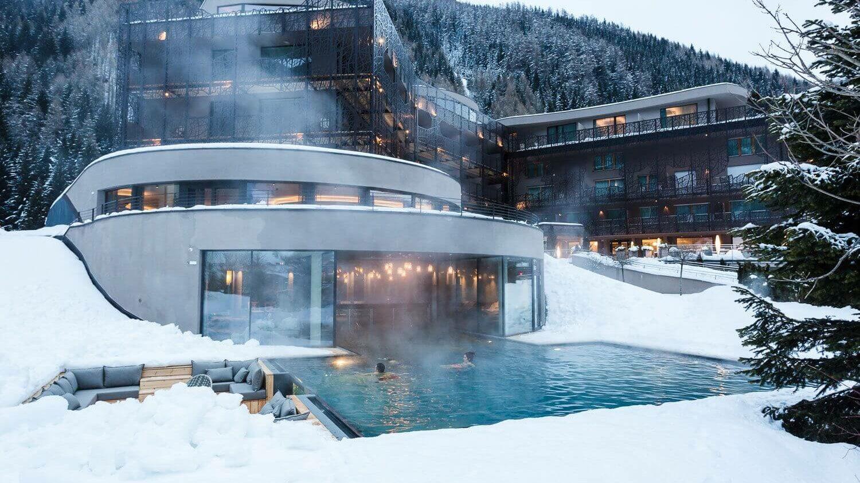 heated outdoor pool-silena hotel