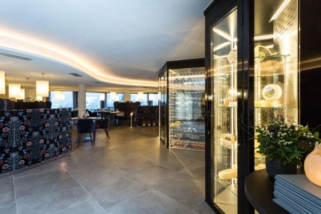 cheese and wine storerooms-silena hotel