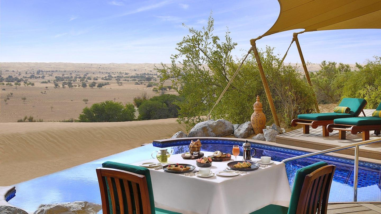 al maha desert resort spa-breakfast