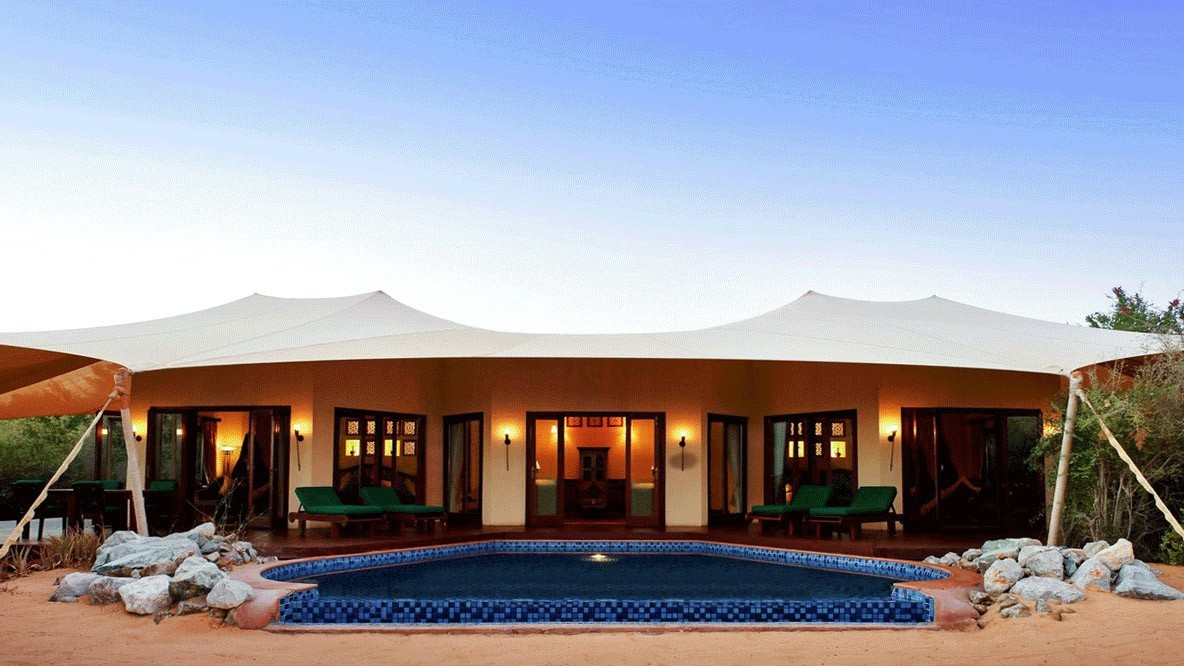 al maha desert resort spa-tent
