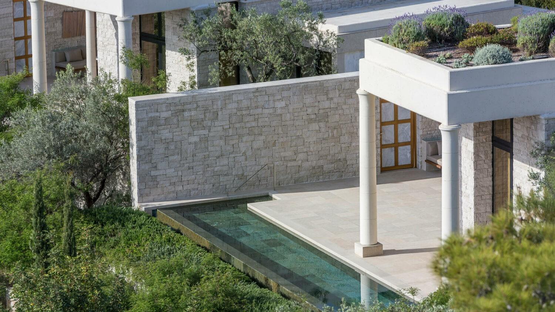 amanzoe greece-exterior