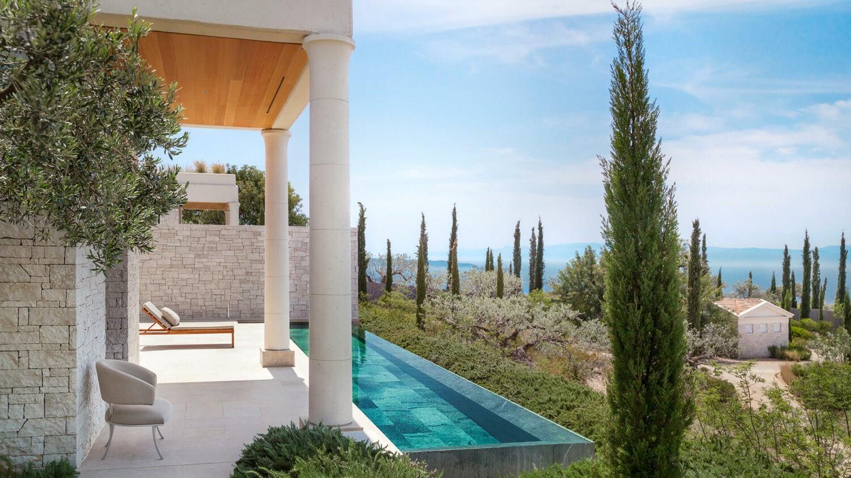 amanzoe greece-infinty-pool