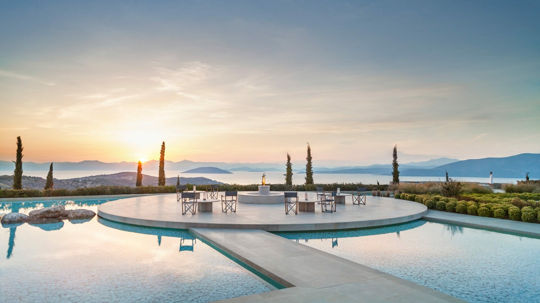 amanzoe greece-main-terrace