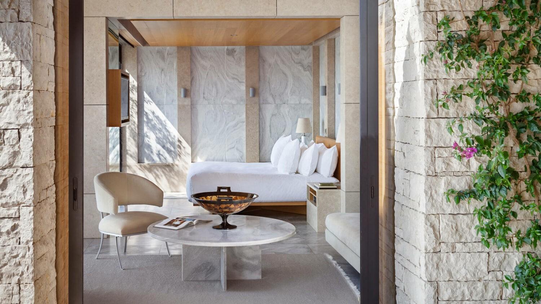 amanzoe greece-pavilion-bedroom