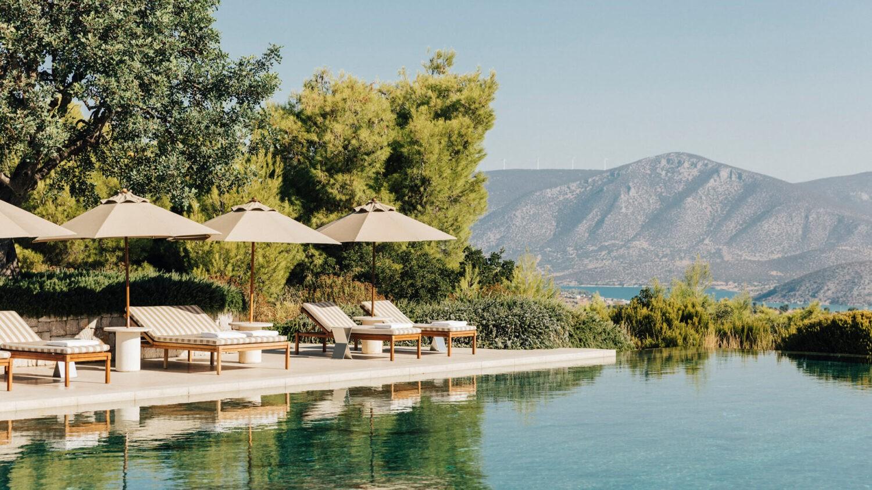 amanzoe greece-pool-view