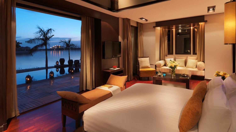 anantara the palm dubai resort-bedroom