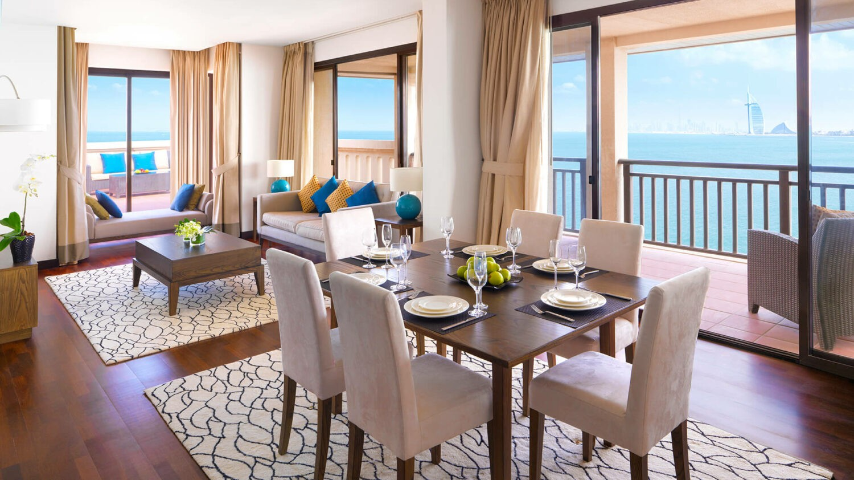 anantara the palm dubai resort-livingroom
