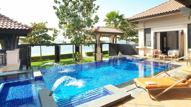 anantara the palm dubai resort-pool-villa