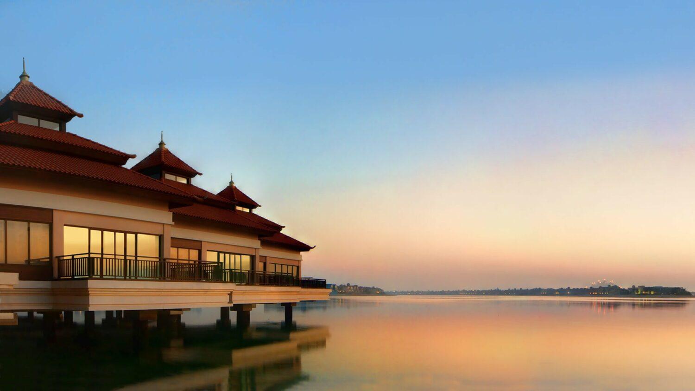 anantara the palm dubai resort-sunset-island