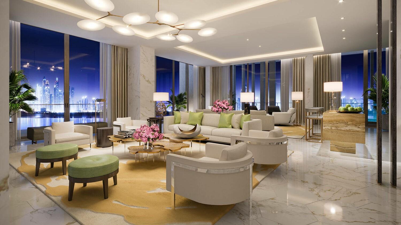 atlantis, the royal dubai-panoramic-livingroom
