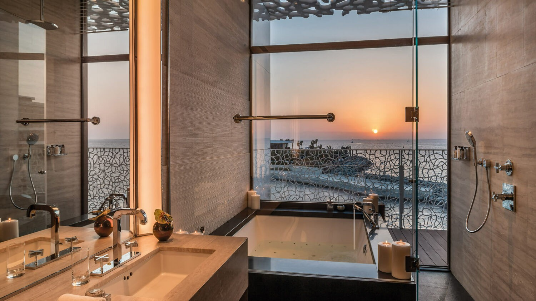 bvlgari resort dubai-bathroom-view