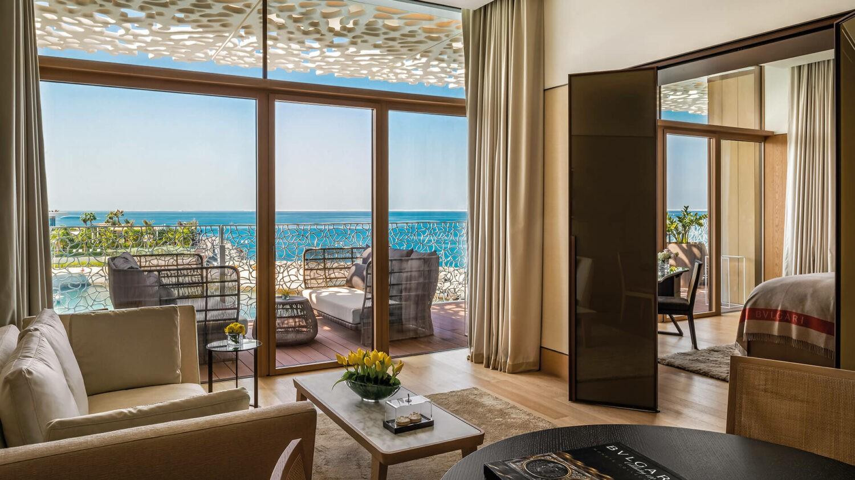 bvlgari resort dubai-junior-suite-livingroom