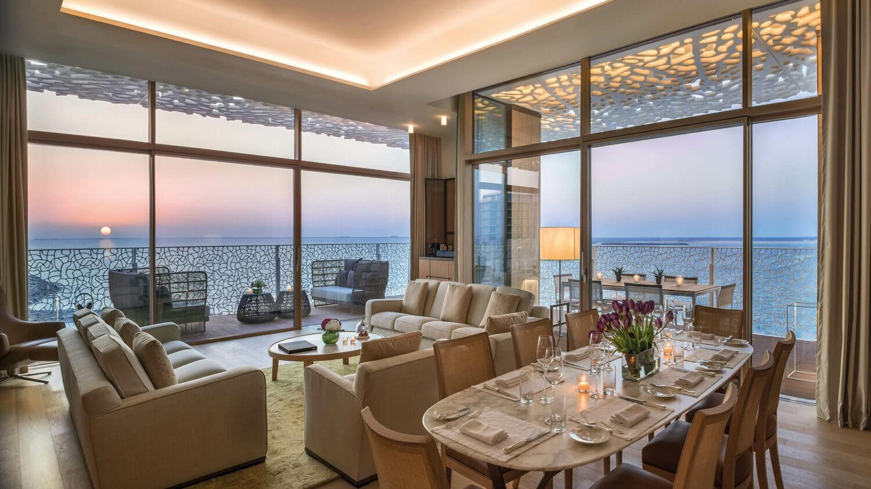 bvlgari resort dubai-livingroom