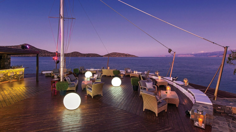 elounda beach hotel villas greece-deck
