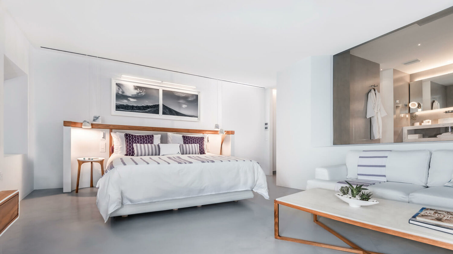 grace hotel, auberge resorts collection greece-bed
