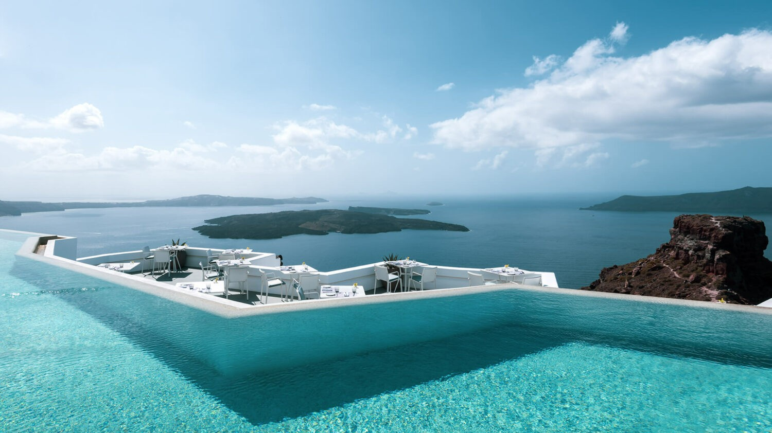 grace hotel, auberge resorts collection greece-infinty-pool