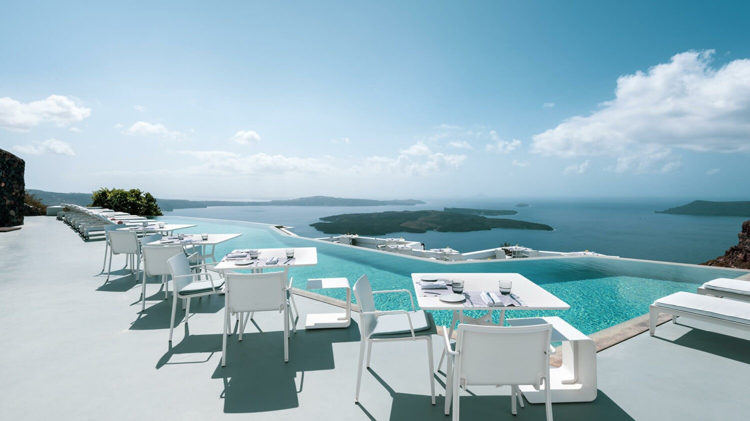 grace hotel, auberge resorts collection greece-terrace-view