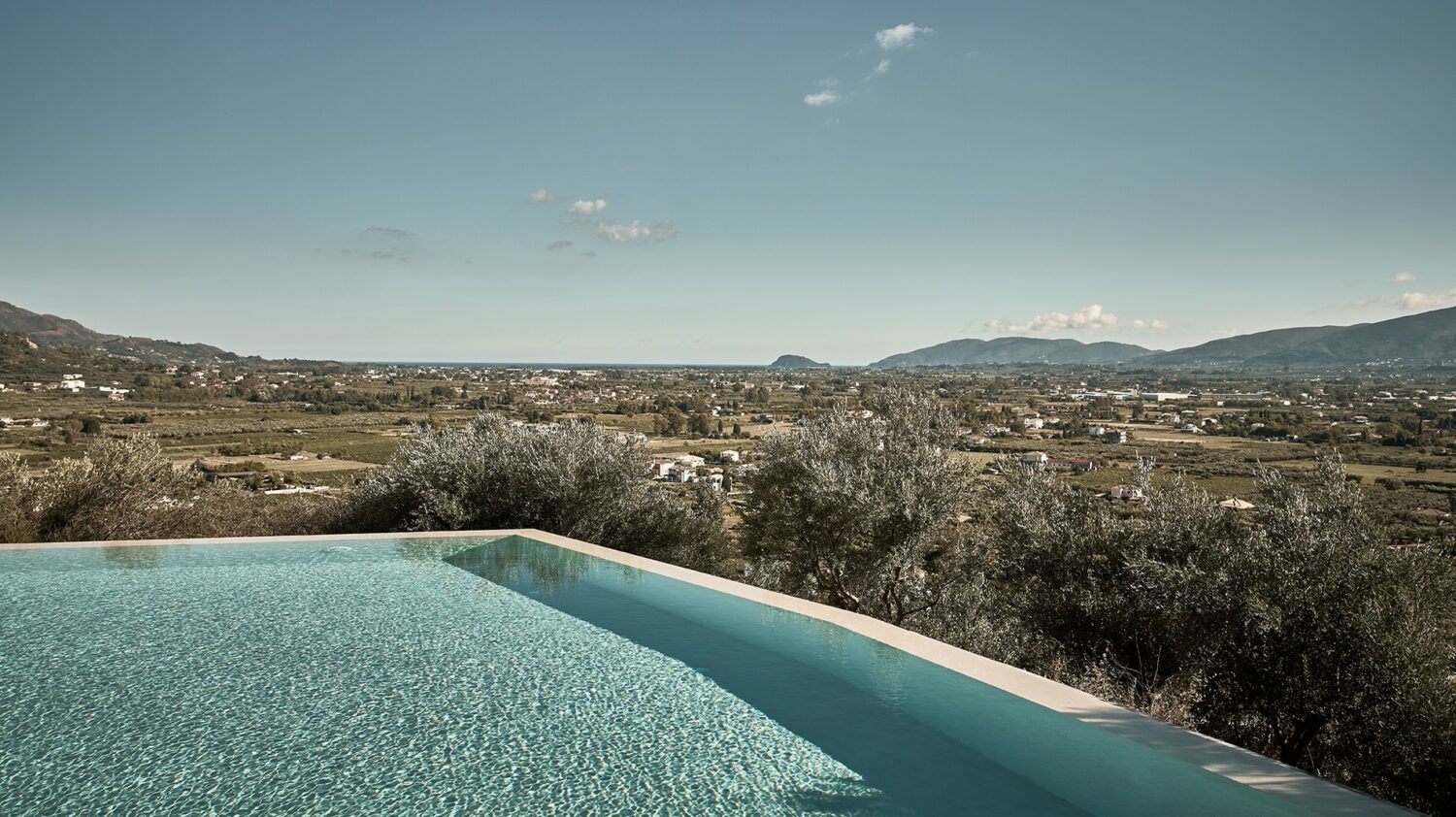 olea all suite hotel greece-infinity-pool-view