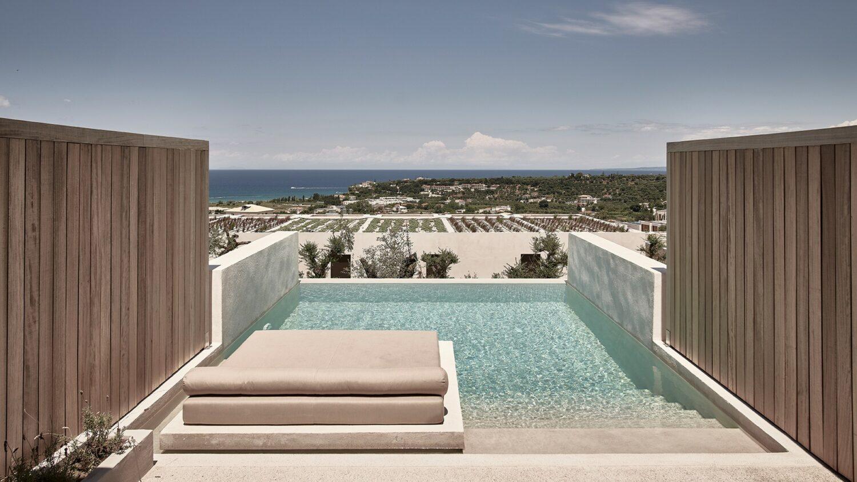 olea all suite hotel greece-private-pool