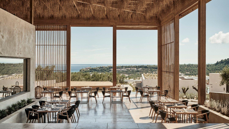 olea all suite hotel greece-restaurant