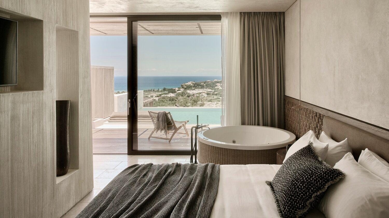 olea all suite hotel greece-suite