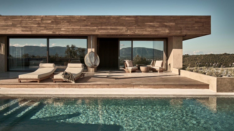 olea all suite hotel greece-terrace-villa-sunbed