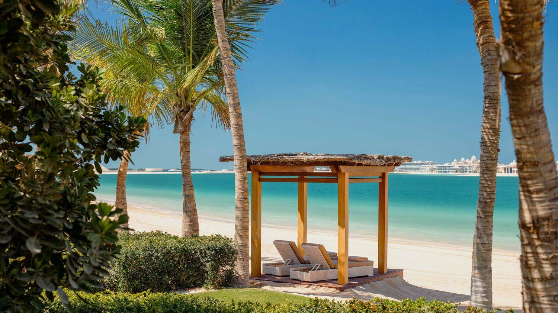 one&only the palm dubai-beach view